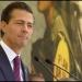 Peña honró con un minuto de silencio a 114 soldados y marinos muertos