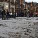 Zacatecas...Se registró una fuerte granizada en la zona conurbada