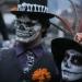 CDMX...cientos de Catrinas desfilaron por Paseo de la Reforma