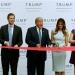 Trump...suspendió campaña para inaugurar su nuevo hotel de lujo