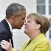 Obama...inició la gira del adios...cenó con Ángela Merkel