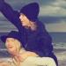 Taylor Swift hizo el reto del maniquí y publicó un vídeo en Instagram.