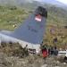 Indonesia... avión militar Hércules C-130 se estrelló a causa del mal clima