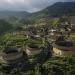 China...los tulou de la provincia de Fujian son viviendas tradicionales