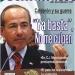 Peña...Calderón quemó un billón de pesos es decir un millón de millones