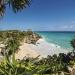 Riviera Maya..interminable playa que parece estar cubierta de talco