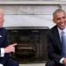 trump...acusó a Barack Obama de estar detrás de las movilizaciones