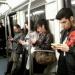 Wifi gratis en el metro... cuidado con perder tu estación de bajada!