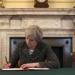 Theresa May..informa a las autoridades de Bruselas la intención de su país de abandonar la Unión Europea