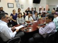 Hernández Fraguas..compromiso atender los planteamientos ciudadanos