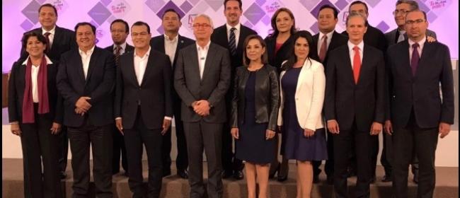 Debaten candidatos a la gubernatura  del Estado de México