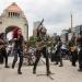 TRI..filmó video Nacidos para rodar en el Monumento a la Revolución