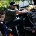 Seguidores y opositores a Donald Trump se enfrentaron en un parque de Berkeley