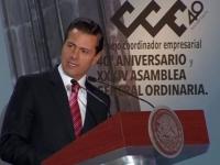 Peña..destacó las cifras positivas de la Inversión Extranjera