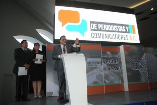 Ramírez Puga, Premio  Nacional de Periodismo