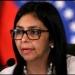 Delcy Rodríguez...infames e inmorales declaraciones de Videgaray