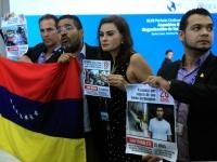 Disidentes venezolanos toman tribuna de la OEA