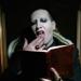 Marilyn Manson...compartió un emotivo tributo a su padre