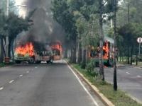 Tláhuac... 8 muertos y camiones quemados por cártel ¿y Mancera?