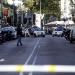 Barcelona..auto arrolló a tres agentes de la Policía autonómica