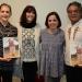 Pedro Valtierra y Ana Luisa Anza en el IV Coloquio de la Mirada Documental