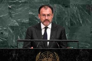 Videgaray..México se siente abrazado por un mundo que no lo deja solo..a él le basta con el abrazo del yerno de Trump