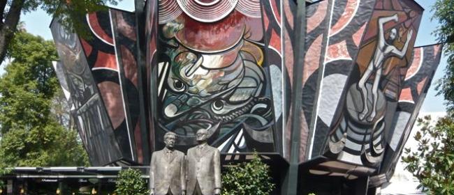 Polyforum..fideicomiso para restaurar murales de David Alfaro Siqueiros