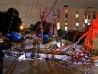 Hasta las 7:15 AM. se habían registrado 185 réplicas del sismo