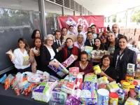 ISSSTE..instala centros de acopio en apoyo de afectados por el sismo