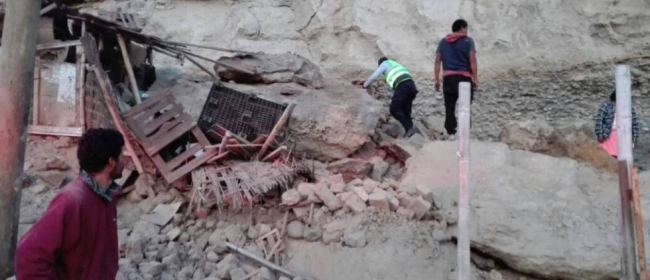 Perú...Un muerto y 65 heridos como consecuencia de un sísmo de 6.8