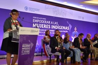 FAO...Las mujeres indígenas se enfrentan a una triple discriminación
