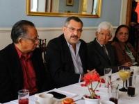 Hernández Fraguas..refrendó su respeto a la libertad de expresión