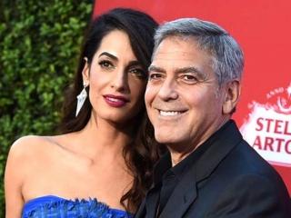 Los Clooney..donarán 500 mil dólares para respaldar el pedido de control de armas
