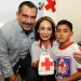 Hernández Fraguas y Lorena Córdoba hicieron un llamado a las y los capitalinos para apoyar a la Cruz Roja