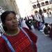 Los desplazados triquis, gran negocio de vivales