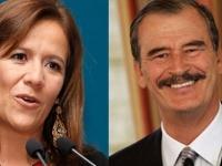 Zavala... agradece al ex presidente Vicente Fox su apoyo