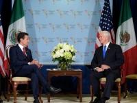 Peña y Pence...acuerdan acelerar firma del TLCAN