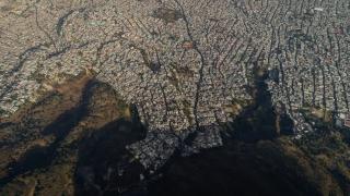 Santiago Arau: Vista aérea de una parte de los límites de la Ciudad de México. @Santiago_Arau