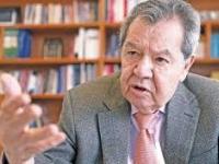 Muñóz Ledo...impondrá la Banda Presidencial a López Obrador