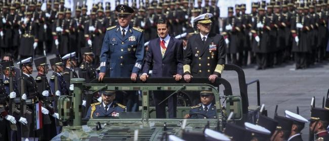 En punto de las 11:00 horas inició Desfile Militar de la Independencia