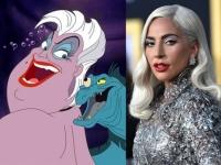 Lady Gaga..Disney la quiere de villana en su nueva película de La Sirenita