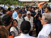 Guterres..encomió resiliencia y valor demostrados por las comunidades