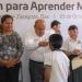 Entrega IEEPO lentes a escolares del Istmo de Tehuantepec