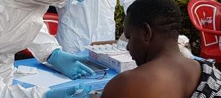 ONU..preocupación por la situación humanitaria en las zonas afectadas por el brote de ébola en la República Democrática del Congo.