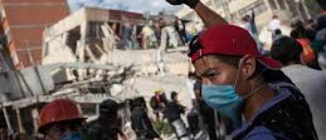 Monterrey..centro comercial se derrumbó mató a 7 personas lesionó a 15