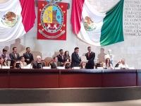 Alejandro Murat..entregó Informe en Congreso dominado por Morena