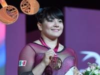 Alexa Moreno..ganó el bronce en el Mundial de Gimnasia Artística