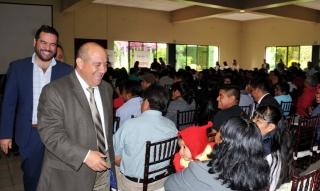 Entrega IEEPO recursos del programa de Escuelas de Tiempo Completo