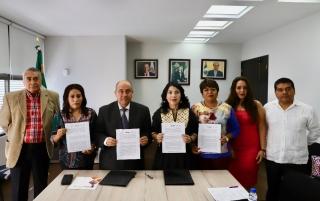 Establecen sinergias SMO y el IEEPO para promover la igualdad de género