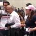 López Obrador de visita en Oaxaca
